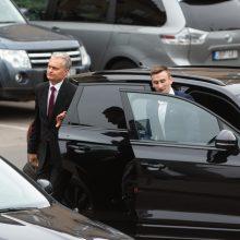 Naujai išrinktą prezidentą G. Nausėdą jau saugo apsauga