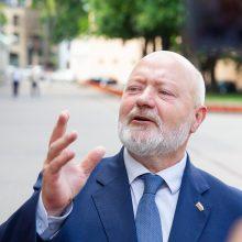 Teismas atmetė 2 mln. eurų Klaipėdos uosto ieškinį E. Gentvilui