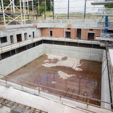 Savivaldybė ruošia naują konkursą baigti Lazdynų baseino statyboms