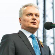 """""""Lietuva yra viena"""" – tokią žinią G. Nausėda siunčia piliečiams"""