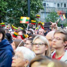 """Tūkstančiai lietuvių dešimtus metus rinkosi giedoti """"Tautišką giesmę"""""""