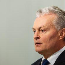 G. Nausėda žada daug dėmesio skirti ekonominei diplomatijai
