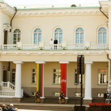 D. Grybauskaitė perdavė Prezidento rūmus G. Nausėdai