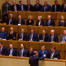 Nors žadėjo, S. Skvernelis nepateikė prezidentui kandidatų į ministrus