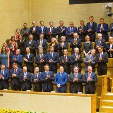"""""""Mandagumo atsistatydinimas"""": Vyriausybė grąžino įgaliojimus G. Nausėdai"""