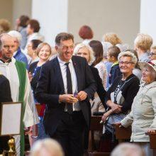Arkivyskupas G. Grušas: drąsiai, pasitikėdami Dievu, eikime per išbandymus