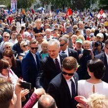 G. Nausėda: noriu, kad Lietuva būtų dar gražesnė