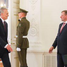 Premjeras antrąkart per dieną susitiko su prezidentu tartis dėl ministrų