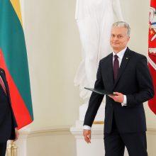 G. Nausėda ir S. Skvernelis susitinka tartis, kokius keis ministrus