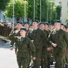 Aukštųjų mokyklų studentams – atsargos leitenanto laipsnis