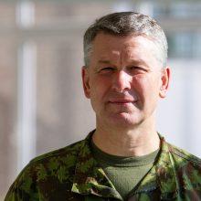Darbą pradeda naujasis kariuomenės vadas