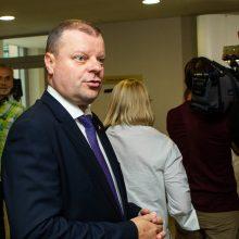 Teismas baigė nagrinėti žurnalistų ir Vyriausybės ginčą dėl garso įrašo