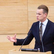 G. Landsbergis: Lietuva nespėjo sudalyvauti derybose dėl eurokomisarų