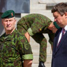 Naujasis kariuomenės vadas: bendrą ES kariuomenę būtų sunku sukurti