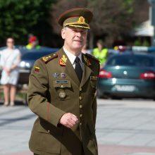 Kariuomenės vadas vyksta į Ukrainą lankyti lietuvių karių