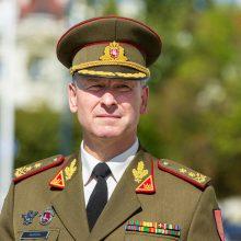 Lietuvos kariuomenės vadas: NATO batalionui užtektų ryžto veikti <span style=color:red;>(interviu)</span>