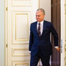 Prezidento patarėjų komandą papildė karininkas T. Godliauskas