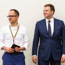 G. Nausėda ir V. Šapoka aptarė, kaip pasiekti proveržį gerovės valstybės link