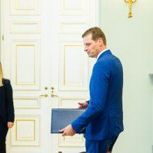 """Prezidentas ragina K. Mažeiką """"netapti miškų kirtimo ministru"""""""