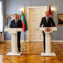 G. Nausėda patvirtino naują Vyriausybę – keičiami trys ministrai