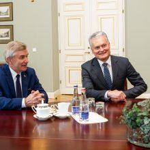 Prezidentūra: prezidentas V. Pranckiečio darbą vertina teigiamai