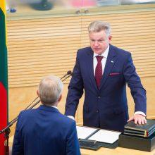 J. Narkevičius paskyrė susisiekimo viceministrą ir kanclerį