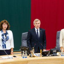 Seimas iki sausio vidurio pratęsė rudens sesiją