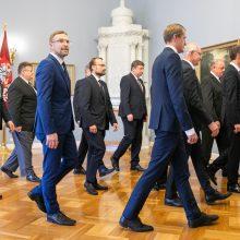 Premjeras įsitikinęs: ministrų kabineto sudėtis nebesikeis
