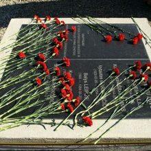 Kazachstane atidengtas paminklas Kengyro sukilime dalyvavusiems lietuviams