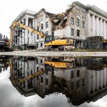 Griauna Profsąjungų rūmus: darbai kainuos beveik 2 mln. eurų