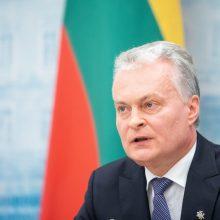 G. Nausėda: lenkų tariamos diskriminacijos tema keliama dirbtinai