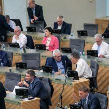 Įstatymo pataisomis siekiama sureguliuoti Seimo narių padėjėjų algas