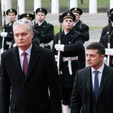 """G. Nausėda prieš """"Normandijos ketverto"""" derybas sukritikavo Rusiją"""