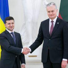 Ukrainos ir Lietuvos vadovai vieningi: sankcijos Rusijai turi būti tęsiamos
