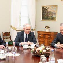 Prezidentūra: ministras turi prisiimti atsakomybę dėl situacijos Švietimo agentūroje