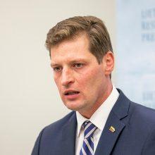 Aplinkos ministras K. Mažeika apskųstas etikos sargams