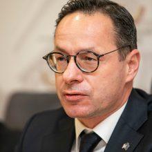 Ž. Pavilionis: dėl Minsko režimo veiksmų bus prašoma partnerių solidarumo