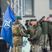 Keičiasi NATO bataliono Lietuvoje vadas