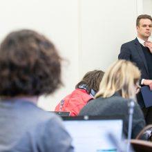 G. Landsbergis siūlo Seimo nariams patiems paskelbti apie saviizoliaciją