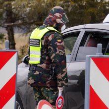 Užsieniečių tranzitas per Lietuvą pratęstas iki savaitės pabaigos