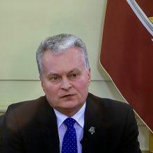 G. Nausėda nepritaria opozicijos siūlymui keisti A. Verygą