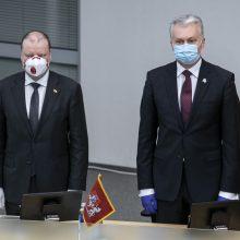 S. Skvernelis apie prezidento ir konservatorių ginčą dėl EVT: tai jau kenkia Lietuvai