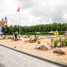 Po pasipiktinimo dėl pliažo – Seime įstatymo projektas dėl Lukiškių aikštės