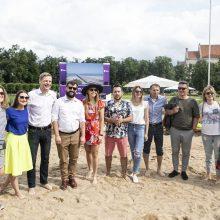 R. Šimašius: Seimo iniciatyva neįpareigos pašalinti paplūdimio