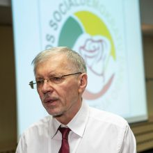 """""""Socialdarbiečiai"""" su socialdemokratais jungtis neketina"""