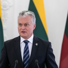 G. Nausėda: mes truputį pristabdėme kraujo praliejimą Baltarusijoje
