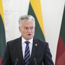 G. Nausėda: mes pristabdėme kraujo praliejimą Baltarusijoje