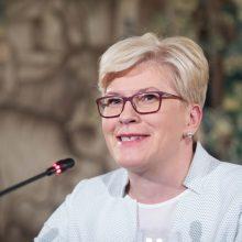 I. Šimonytė su Švedijos premjeru aptars energetinį saugumą