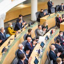 NVSC: G. Landsbergiui, A. Armonaitei ir T. V. Raskevičiui izoliacija nėra privaloma