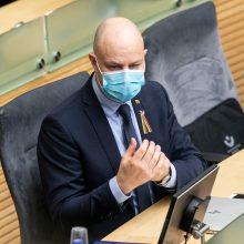 Opozicija padėtį sveikatos sektoriuje vadina kritine, reikalauja skubaus posėdžio